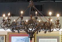 Reštaurovanie retro lustrov a svietidiel / Reštaurovanie,renovácia starožitných lustrov a svietidiel.