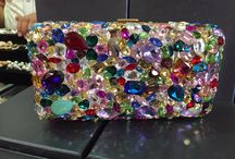 Crystal clutch bags / The most beautiful array of clutch bags can be found at StardustBoutique! We have ab crystal, Swarovski, multicolour real crystal purses!