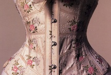 A Corset Story / A corset emphasizes a curvy figure, by reducing the waist, and thereby exaggerating the bust and hips. Corsets make a woman feel sexy, strong and confident. / by Chentzu Hester