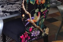 Unique Chairs / These unique chairs are our latest creations. We love unique designs and this shows how you can make chairs pop