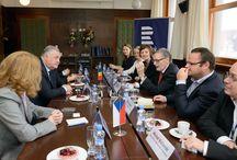 Acord de colaborare bilaterală între Radio România şi Radio Cehia / foto: Radio Cehia