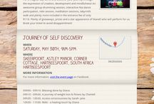 Journey of self discovery / Self discovery