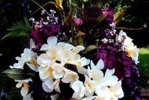 Reception floral arrangement