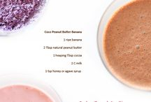 Smoothies and juices.  / by Lauren Cuthill