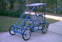 PVC pedal bike
