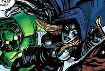 Black Widow vs Villains