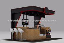 food kiosks design
