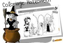 Activités à imprimer Halloween.