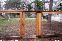 Fencing ideas / Different fencing options for animals and home