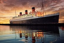 Ships / My Dad sailed to Egypt on the Queen Mary in 1942. Great memories. More to follow - watch this space.