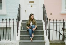 Lifestyle & Portraits in Notting Hill & Kensington (my hood!) / I live in such a gorgeous area and it inspires me constantly, its one of my favourite places to shoot, quirky little side streets and beautiful candy coloured houses!