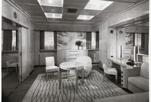 Cabins onboard the Normandie