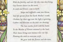 Spring Equinox / Ostara / Posts & Pins about the spring Equinox, vernal Equinox and Ostara.