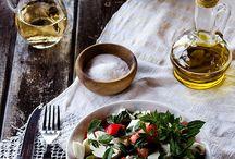 Cena – dinner  / Italian food.  / by Wanda Hinkle Peterson