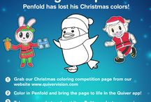 Quiver AR - Christmas 2015 Coloring Competition / Check out the entries for the Quiver Christmas Coloring Competition!