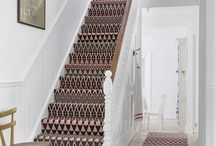 Patterned Carpets / Flooring with a twist
