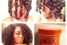 Hair products and styles