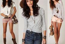 Summer outfits / by Veota Khemjinda