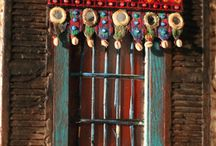 toran, thorang, valence, door tapestry, arazzo porta
