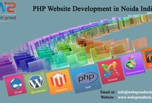PHP Website Development in Noida India / PHP Website Development in Noida India - WebSpread Technologies is one of the best PHP Website Development and web development services in Noida India at an affordable price. We are also providing custom PHP website & Android application development. web based software development company in Noida India. More @  https://goo.gl/Tyebpw