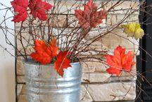 őszi dekorok