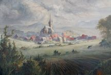 Alte Bilder und Zeichnungen aus der Region / Zeichnungen und Gemälde von früher. Aus der Region um Merzig, dem Saargau und SaarLorLux