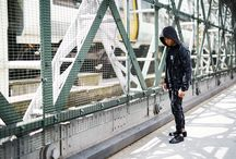 """FALL '15 CAMPAIGN / Shot on the streets of London, the Creative Recreation Fall '15 campaign is titled """"Urban Lines""""."""