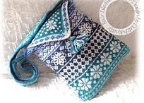Bags in knit and crochet