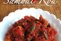 Sambal, Indonesian Cuisine