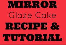 Mirror Glaze Shiny Cake