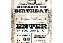 Halloween Birthday Party / Inspiration for My Son's First Birthday - Halloween and Guardians of the Galaxy Theme!
