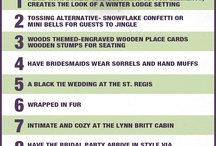 Wedding... Did you know? / Tips and advice for all thing wedding related