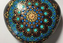 Kavicsfestés - Stone Art Painting