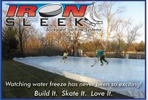 Iron Sleek on Amazon / Backyard Ice Rink Products on Amazon