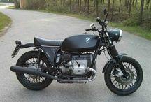 Motorrad-Umbau BMW