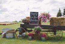 Rustic/ vintage / Rustic wedding, Vintage wedding, Romantic wedding, Farm Wedding