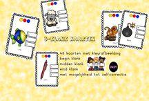 taal spelletjes van katrotje / speciale materialen met het oog op ontdekken van taal
