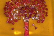 Arboles y flores