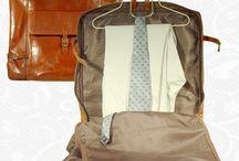 Kožené púzdra na obleky