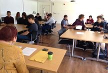 Birth of Cinema at Brighton University / BDMA students attend the Birth of Cinema lecture at Brighton University