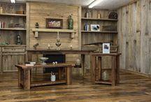 Barnwood coffee/end tables