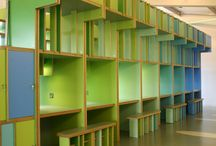 Longford Community School - New Sixth Form Centre / This project involved the fit out of an empty shell & core space situated on an upper mezzanine of the canteen block