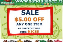 Coupon Discount / Coupon Discount. Shopping online on www.sandalishop.it