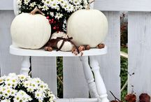 Fall Deck Styling / Inspiration for transitioning your deck from summer to fall as the seasons change.