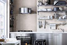 .IKEA kitchen.