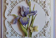 Bloemen plaatjes 3 d kaarten