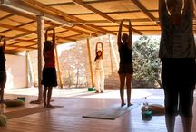 Okreblue Seaside Retreat Center, Yoga Paros / morningyoga#bythebeach