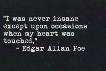 Edgar Allan Poe / #WiseWords #Wisdom #Dark #Light #TalentedMan