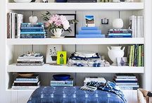 Navy Blue / Ideas for decorating with this timeless hue.