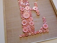 Fun with buttons / Ideas for using my bottles of buttons / by Peter 'n' Susie Neale